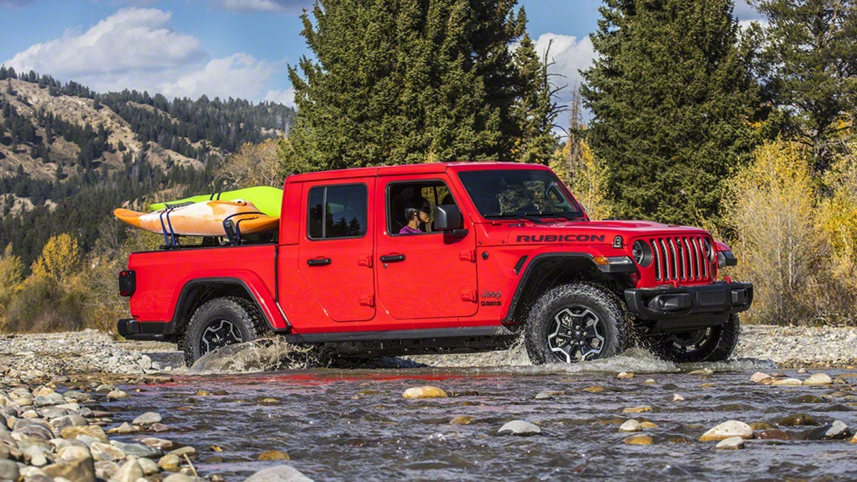 2020 Jeep Gladiator Pickup Truck Featured