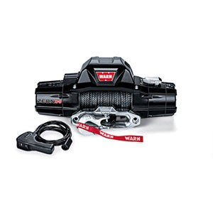 Warn 89305 Zeon 8-S Recovery Winch With Synthetic Rope TrucksResource
